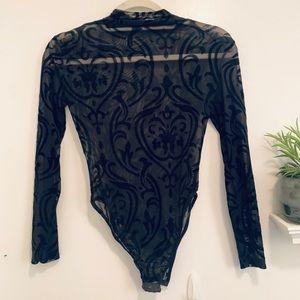 NWT Black Body Suit